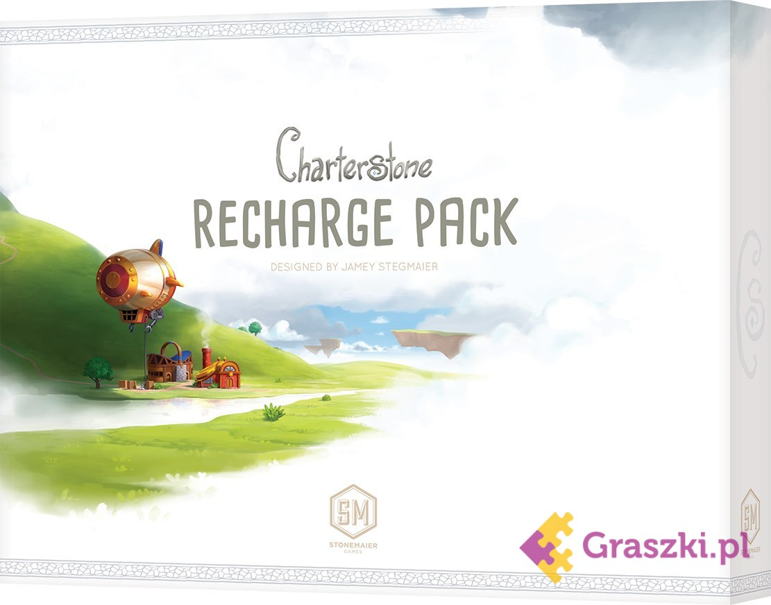 Charterstone: Recharge Pack (PL) | Rebel